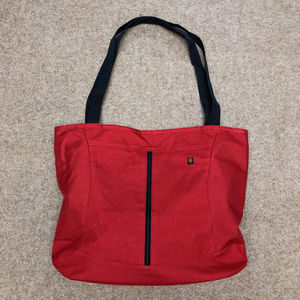 Swiss Army Knife/Victorinox Red Tote Bag